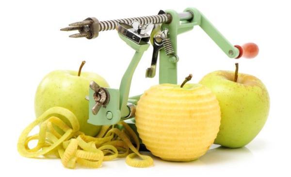 سكين تنظيف التفاح